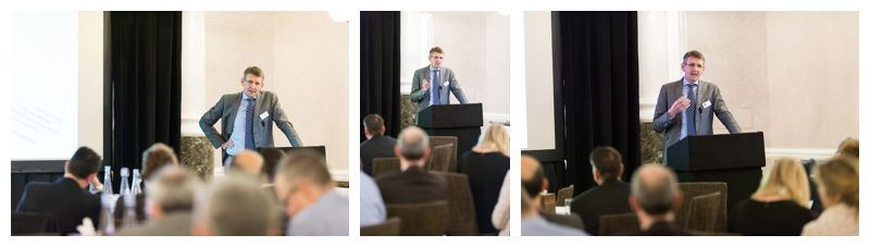 Conference Speaker Podium London Hotel Event Photographer