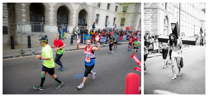 London Marathon 2015 Mile 25 Photography