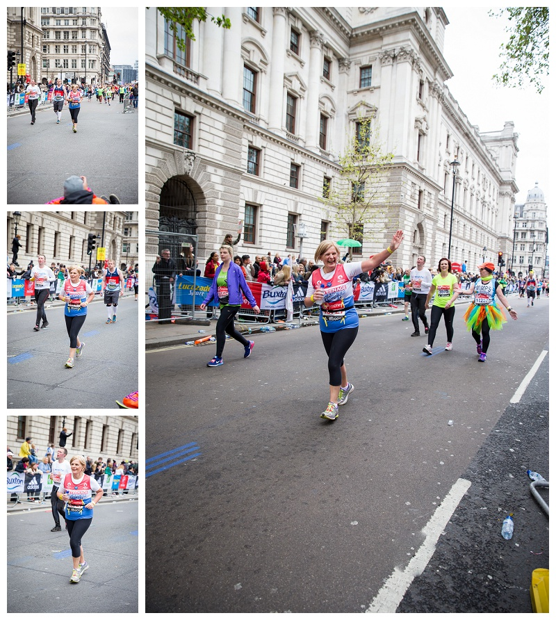 Finishing the London Marathon 2015 Photography